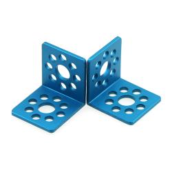 MakeBlock - Bracket L1-Blue (Pair)