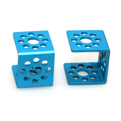 Makeblock - Bracket U1-Blue (Pair)