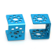 Makeblock - Bracket U1-Blue (Pair)