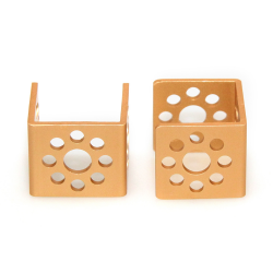 Makeblock - Bracket U1-Gold (Pair)