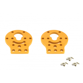 MakeBlock - DC Motor-37 Bracket A - Gold (Pair)