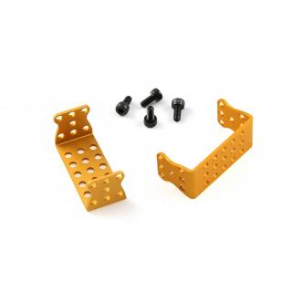 MakeBlock - MEDS15 Servo Motor Bracket-Gold (Pair)