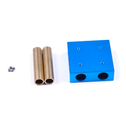 Makeblock - Kliznik sa bakrenom vodilicom - Plavi 48x48x16mm