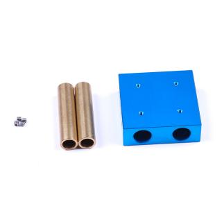 Makeblock - Slider with Copper Sleeve - Blue 48x48x16mm