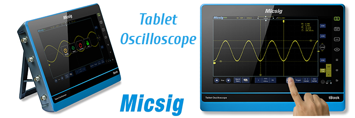 Tablet Osciloskopi