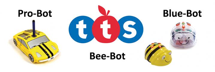 Pro-Bot, Bee-Bot & Blue-Bot