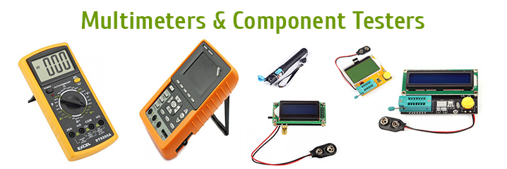 Multimeters and Component Testers