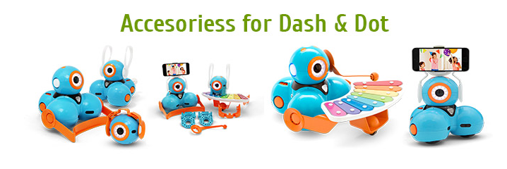 Accessories for Dash & Dot